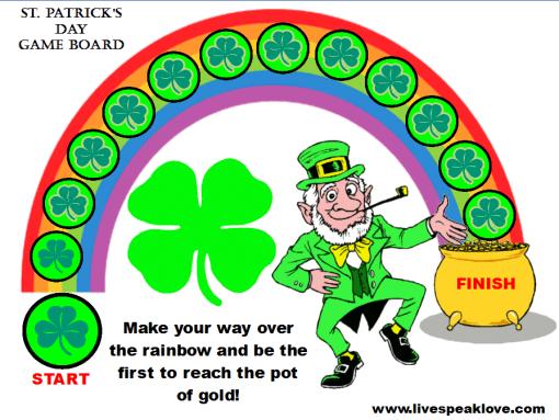 Saint Patricks Goals Game